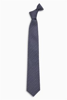 Diamond Pattern Signature Tie