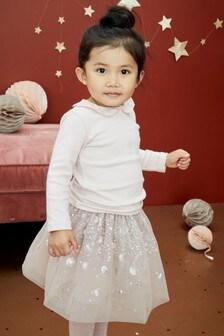 亮片裝飾芭蕾舞裙 (3個月至7歲)