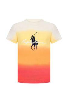 Ralph Lauren Kids Boys Multi Cotton T-Shirt
