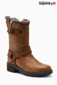 Superdry Temper Biker Boot