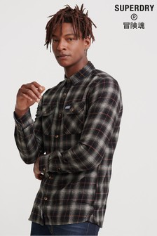 Superdry Black LumberJack Shirt