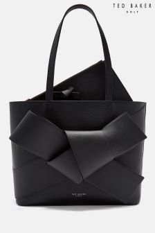 Ted Baker Black Aliie Giant Knot Shopper