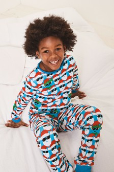 Santa/Elf All Over Print Pyjamas (9mths-16yrs)