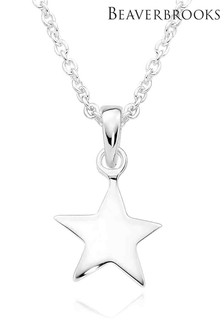 Beaverbrooks Sterling Silver Star Pendant