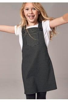 Ensemble t-shirt et robe à motif rayé (3-16 ans)