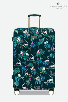 Sara Miller Birds Print Suitcase Large
