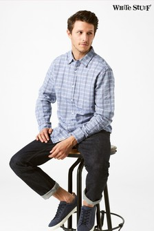 White Stuff Blue Bethal Check Shirt
