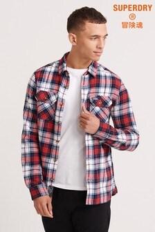 Superdry White Lumberjack Shirt