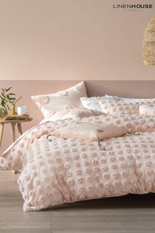 Haze Peach Bedset by Linen House