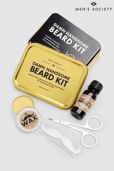 Mens Society Handsome Beard Kit