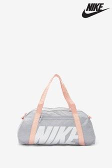 Nike Grey/Pink Club Duffle Bag