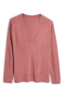 Luxe V-Neck Sweater
