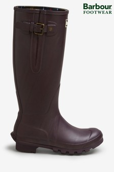 Barbour® Amble Burgundy Wellies