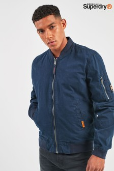 Superdry Navy Rookie Duty Bomber