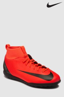 Nike Red CR7 Superfly 6 Turf