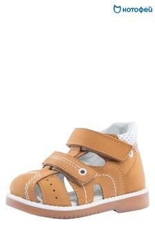 Светло-коричневые сандалии Kotofey