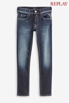 Темные джинсы скинни Replay® Kids Hyperflex