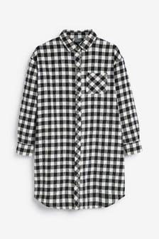 Oversized Check Shirt (3-16yrs)