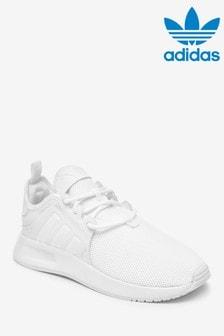 adidas Originals White XPLR Junior Trainers