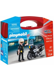 Playmobil® 5648 City Action Small Police Carry Case