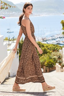 Tiered Maxi Dress