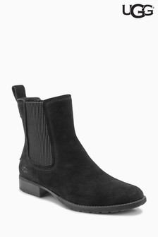 UGG® Hillhurst Black Elasticated Ankle Boot