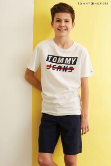 Tommy Hilfiger Boys Belted Short