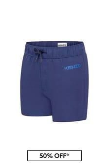 Kenzo Kids Boys Navy Swim Shorts