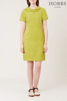 Hobbs Green Petra Dress