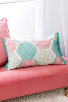 Patchwork Geo Cushion