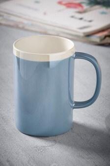 Blue Lustre Mug