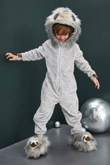 Sloth Fleece All-In-One (3-16yrs) dad5c39e9