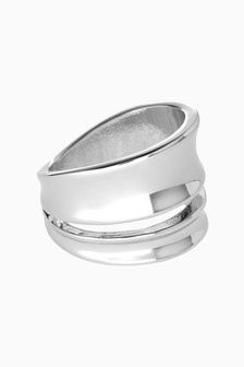 Wide Metal Ring