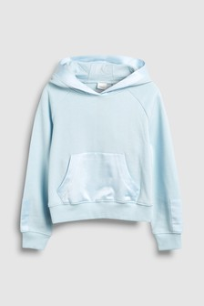 Satin Panel Hoody (3-16yrs)