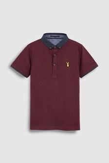 Элегантная футболка-поло (3-16 лет)