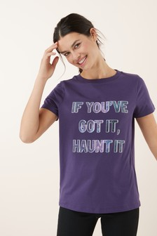 Halloween If You've Got It Haunt It Top