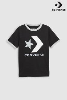 Converse Star Chevron Ringer T-Shirt mit Stern-Winkel-Motiv