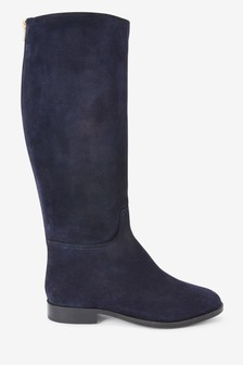 Forever Comfort® Zip Detail Long Boots