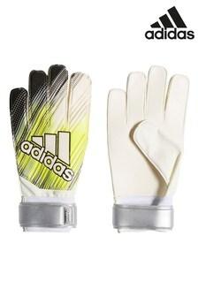 adidas Yellow/Silver Predator Goalkeeper Gloves