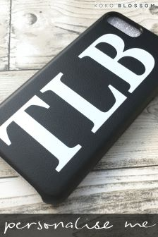 Personalised Faux Leather Initial Phone Cover By Koko Blossom