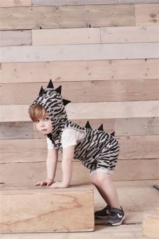 Zebra Short All-In-One (3mths-6yrs)