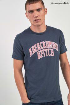 Abercrombie & Fitch Navy Script T-Shirt