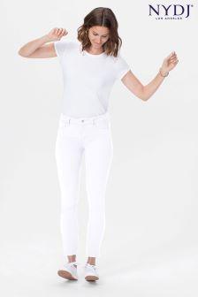 NYDJ Optic White Alina Ankle Jean