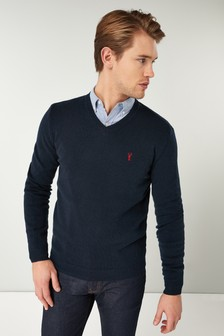 Lambswool V-Neck