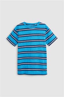 Textured Stripe T-Shirt (3-16yrs)