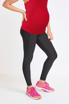 Maternity/Nursing 2-In-1 Bump Support Sports Leggings