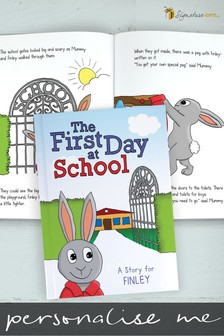 Personalised First Day At School Book by Signature Book Publishing