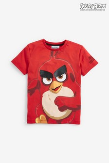 Short Sleeve Angry Birds T-Shirt (3-16yrs)
