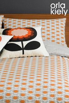 Set of 2 Orla Kiely Ditsy Cyclamen Pillowcases