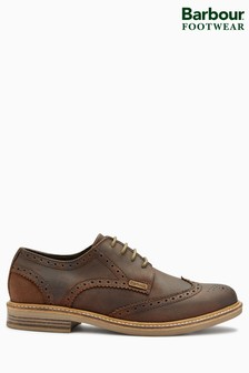 Barbour® Brown Bamburgh Oxford Brogue Shoe